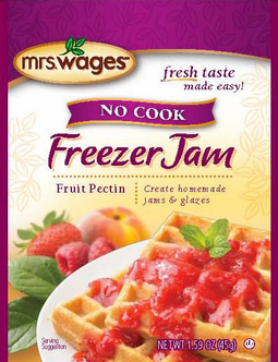 Mrs. Wages� No Cook Freezer Jam Fruit Pectin