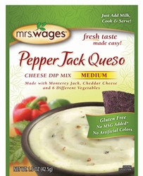 Mrs. Wages® Pepper Jack Queso Cheese Dip Mix