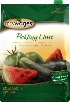 Mrs. Wages� Pickling Lime