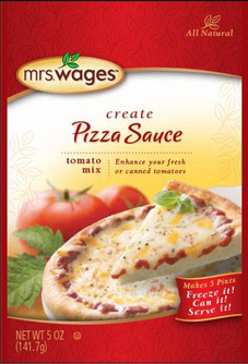 Mrs. Wages® Pizza Sauce Tomato Mix Case