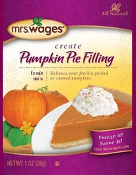 Mrs. Wages� Pumpkin Pie Filling