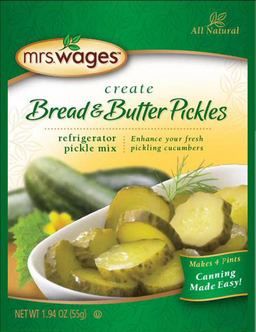 Mrs. Wages® Refrigerator Bread & Butter Mix Case