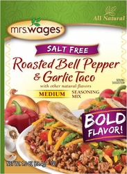 Mrs. Wages® Roasted Bell Pepper & Garlic Taco Mix Case