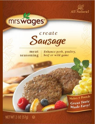 Mrs. Wages® Sausage Seasoning Mix 12 pk Case