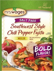 Mrs. Wages® Southwest Style Chili Pepper Fajita Mix Case
