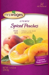 Mrs. Wages� Spiced Peaches Fruit Mix Case
