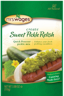 Mrs. Wages� Sweet Pickle Relish Case