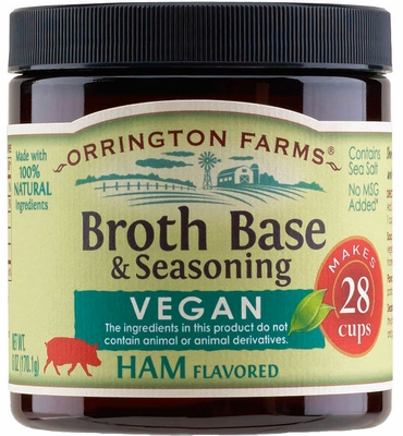 Orrington Farms® All Natural Vegan Ham Flavored Base 6 pk Case