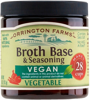 Orrington Farms® All Natural Vegan Vegetable Flavored Base