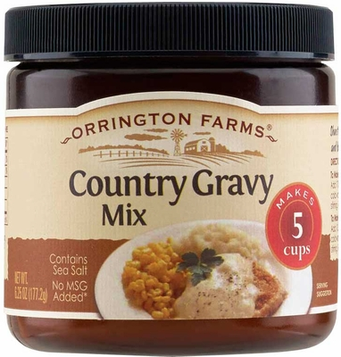 Orrington Farms® Country Gravy Flavored Mix 6 pk Case
