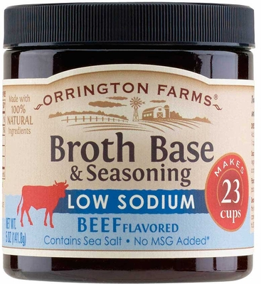 Orrington Farms® Low Sodium Natural Beef Flavored Broth Base