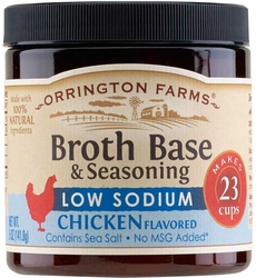 Orrington Farms� Low Sodium Natural Chicken Flavored Broth Base