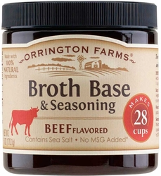 Orrington Farms� Natural Beef Flavored Broth Base