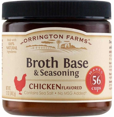 Orrington Farms� Natural Chicken Flavored Broth Base