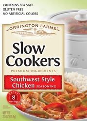 Orrington Farms® Southwest Style Chicken Slow Cookers Mix Pouch