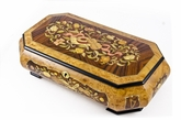 Extraordinary 36 Note Grand Musical Theme Music Jewelry  Box with Lift Up Tray