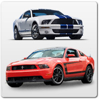 05-09 BOSS 302 & GT500 Styling Parts