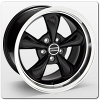 05-09 Mustang Black Wheels