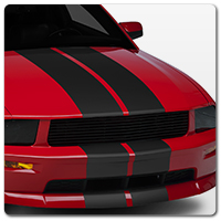 05-09 Mustang Decals, Stripes & Graphics