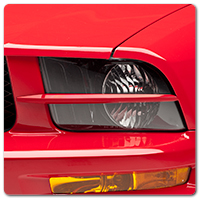05-09 Mustang Headlight Splitters