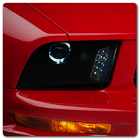 05-09 Mustang Headlights