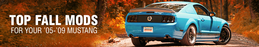 05-09 Mustang Top Fall Mods