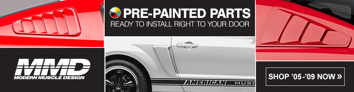 05-09 Mustang Exterior Styling