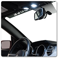 10-14 Mustang Interior LED Lighting