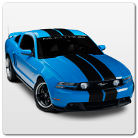 10-14 Mustang Racing Stripes