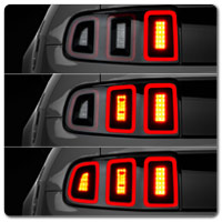 10-14 Mustang Sequential Tail Lights