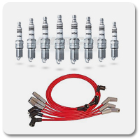 10-14 Mustang Spark Plugs & Spark Plug Wires