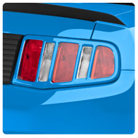 10-14 Mustang Tail Light Trim & Bezels