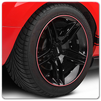 10-14 Mustang Wheel Bands