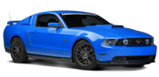 10-14 Mustang Light Bars & Wind Deflectors