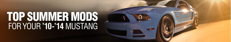 10-14 Mustang Top Summer Mods