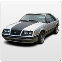 1984 Ford Mustang ('84)