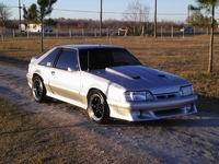 1988 Turbo Silver Mustang LX Pictures - Arnold Ramirez '88