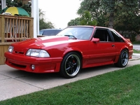 1990 Red Mustang GT - Dominic Nigro '90