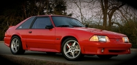 1992 Performance Red Mustang GT - Jim Wyche '92