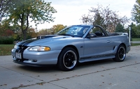 1994 Blue-Gray Mustang GT Convertible - Jack Cooper '94