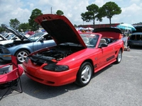 1994 Laser Red X-Edition Mustang GT Convertible - Austin Oldfield '94