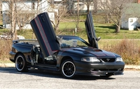 1995 Black Mustang GT Convertible - Kevin Blackwood '95