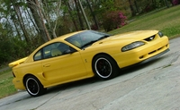 1995 Canary Yellow Mustang GT - Jeremy Thorner '95