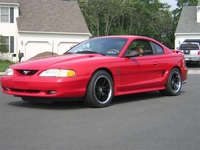 1995 Crimson Red Mustang GT Pictures- Scott Schreader '95