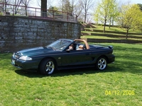 1995 Hunter Green Mustang Convertible GT Pictures- Rick Manis '95