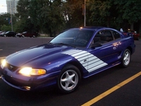 1995 Saphire Blue Mustang GT- James Wilson '95