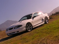 1995 Snow White Mustang GT - Anthony Baccarella '95