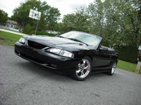 1996 Black on Black Mustang GT Convertible - Ryan McWilliams '96