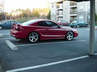 1996 Rio Red Ford Mustang GT Pictures - Justin Busby '96