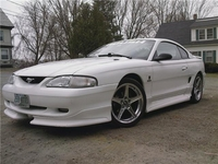1997 Arctic White Mustang GT - Eddie DuClos '97